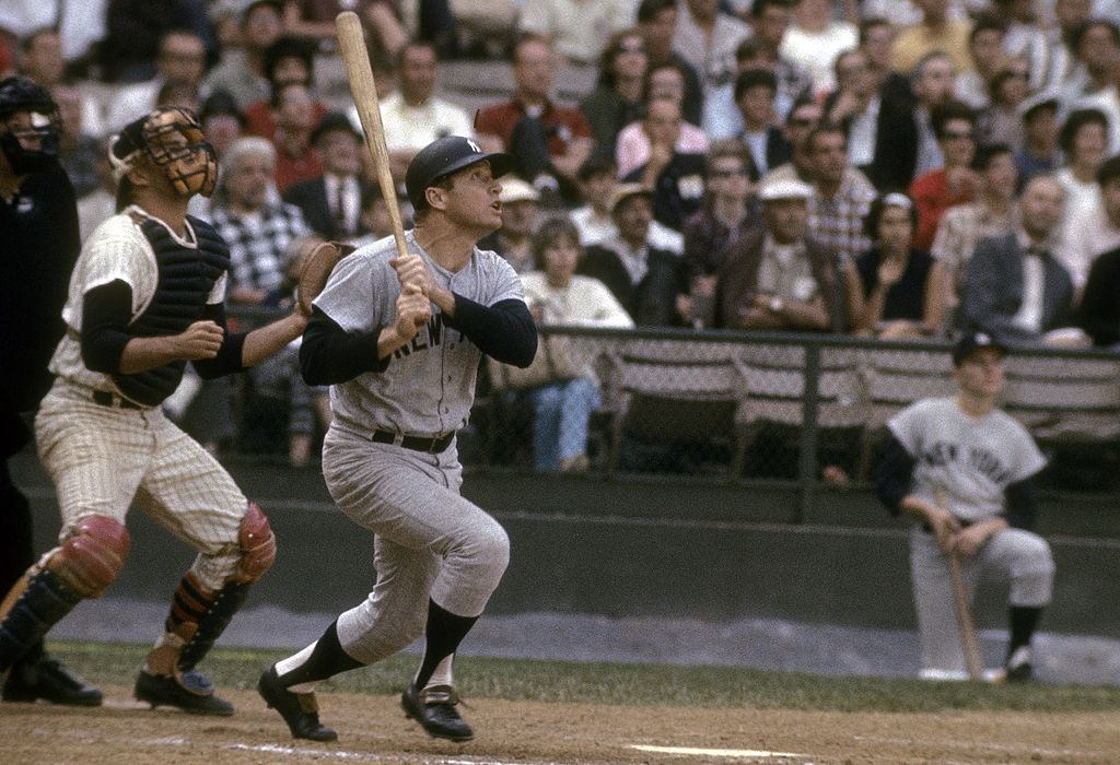 New York Yankees legend Mickey Mantle hit 536 home runs across a Hall of Fame career.