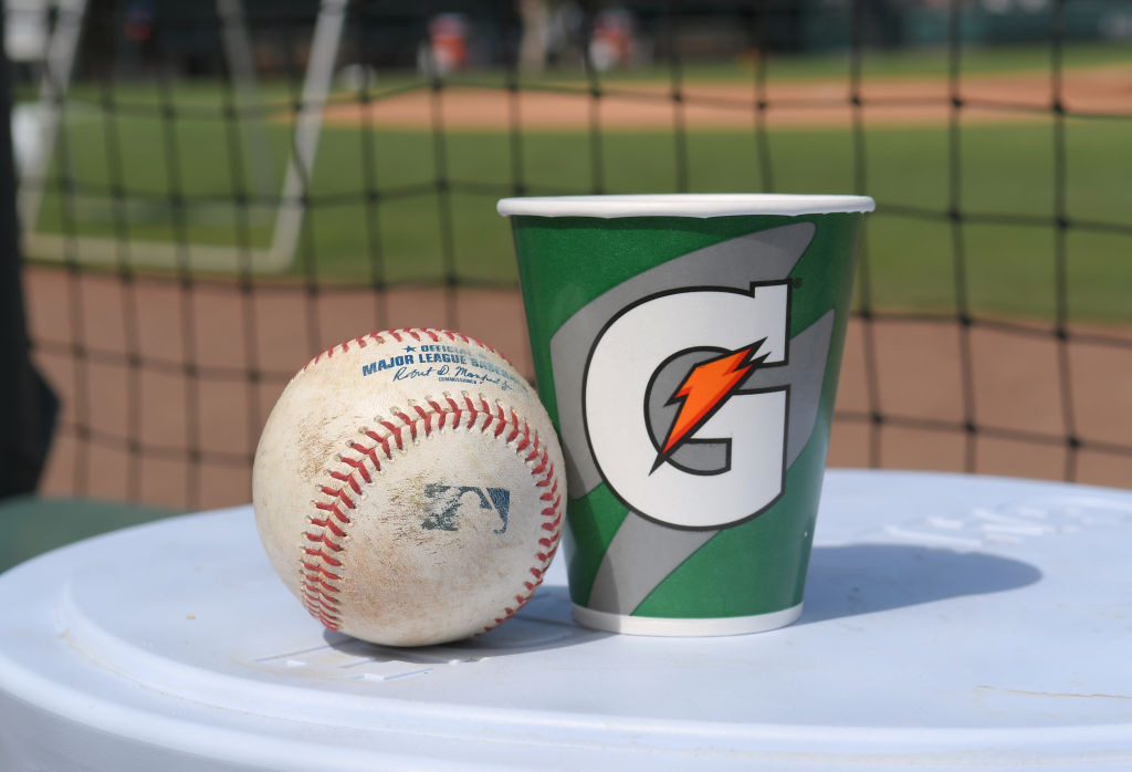 Major League Baseball makes money from a variety of sources, including deals with brands like Gatorade.