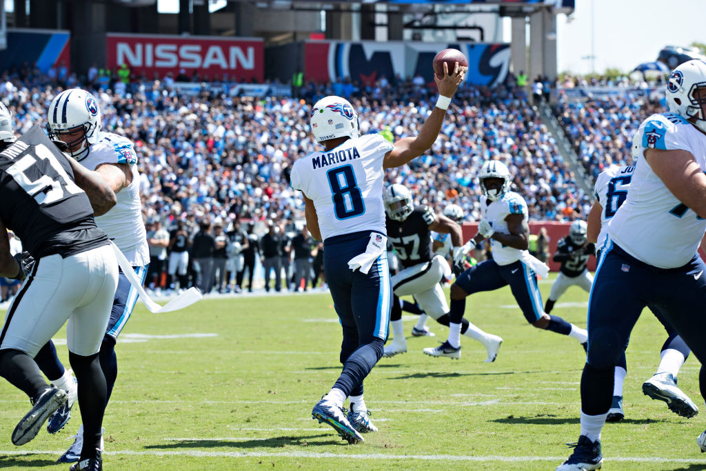 The Raiders are betting big on Marcus Mariota with up to $20 million in contract incentives.