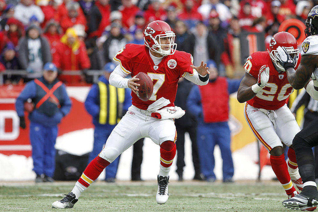 Veteran quarterback Matt Cassel threw three interceptions in his playoff debut with the 2010 Kansas City Chiefs.