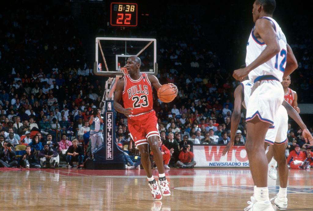 What's the story behind Michael Jordan's famous 23 jersey.