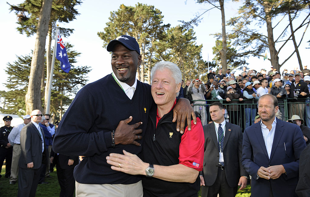 Even Bill Clinton wasn't safe from Michael Jordan's infamous trash-talking.