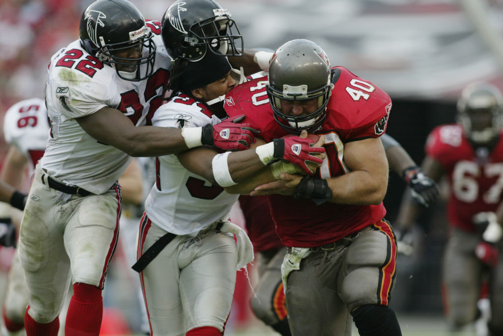 Tampa Bay Buccaneers legend Mike Alstott is arguably the greatest fullback in Madden history.