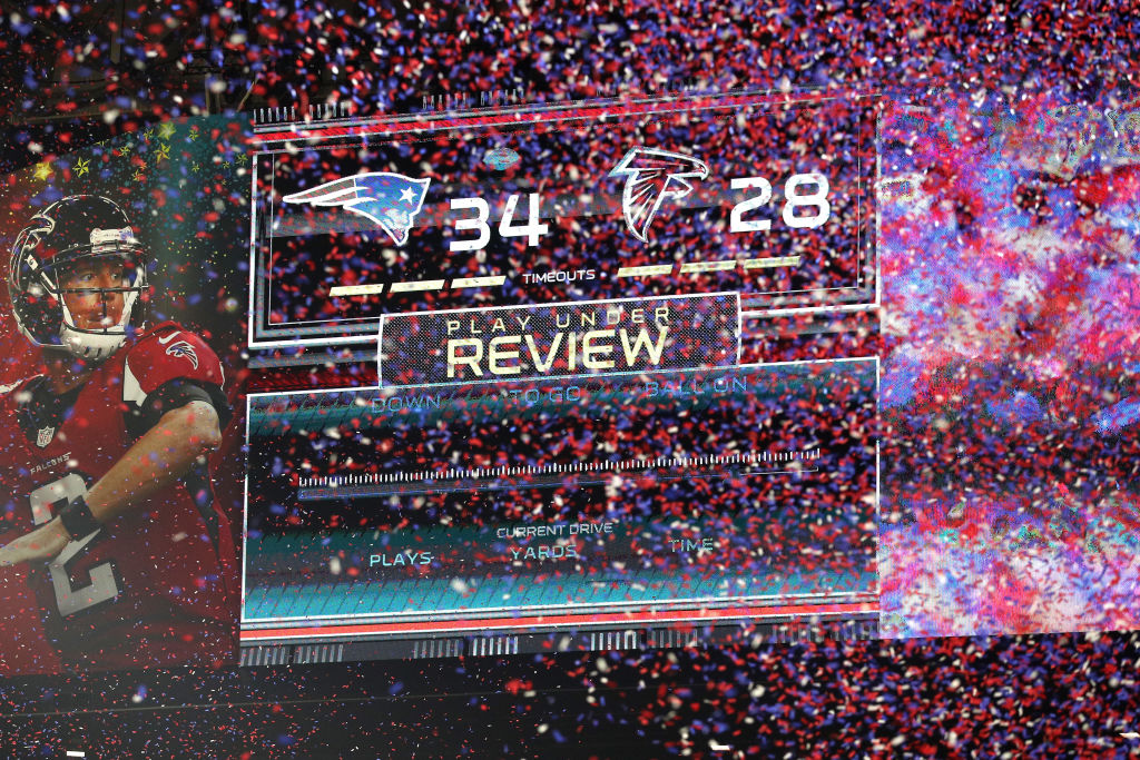 The NFL adopted a 10-minute overtime period in 2017. The New England Patriots have taken advantage of the current overtime rules.