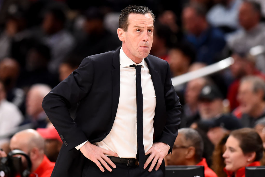 Former Brooklyn Nets head coach Kenny Atkinson