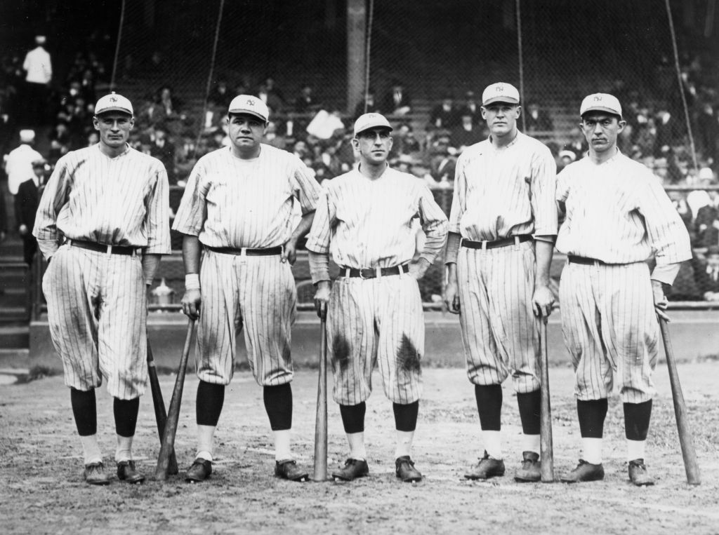 The New York Yankees have worn pinstripes since they were the Highlanders.