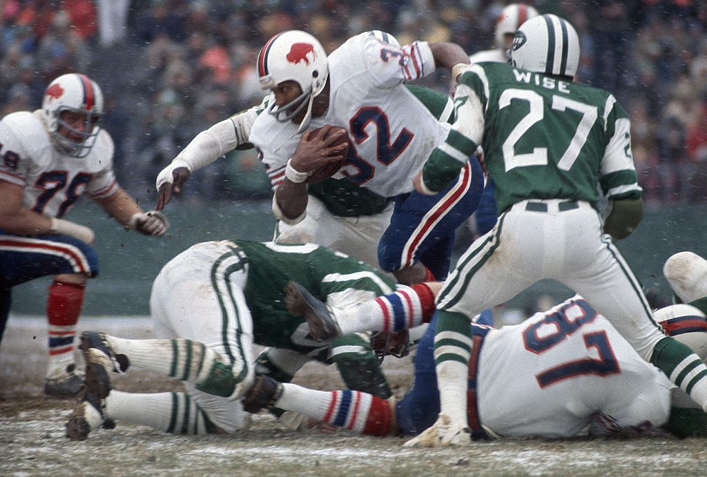 O.J. Simpson made NFL history during his time in Buffalo.