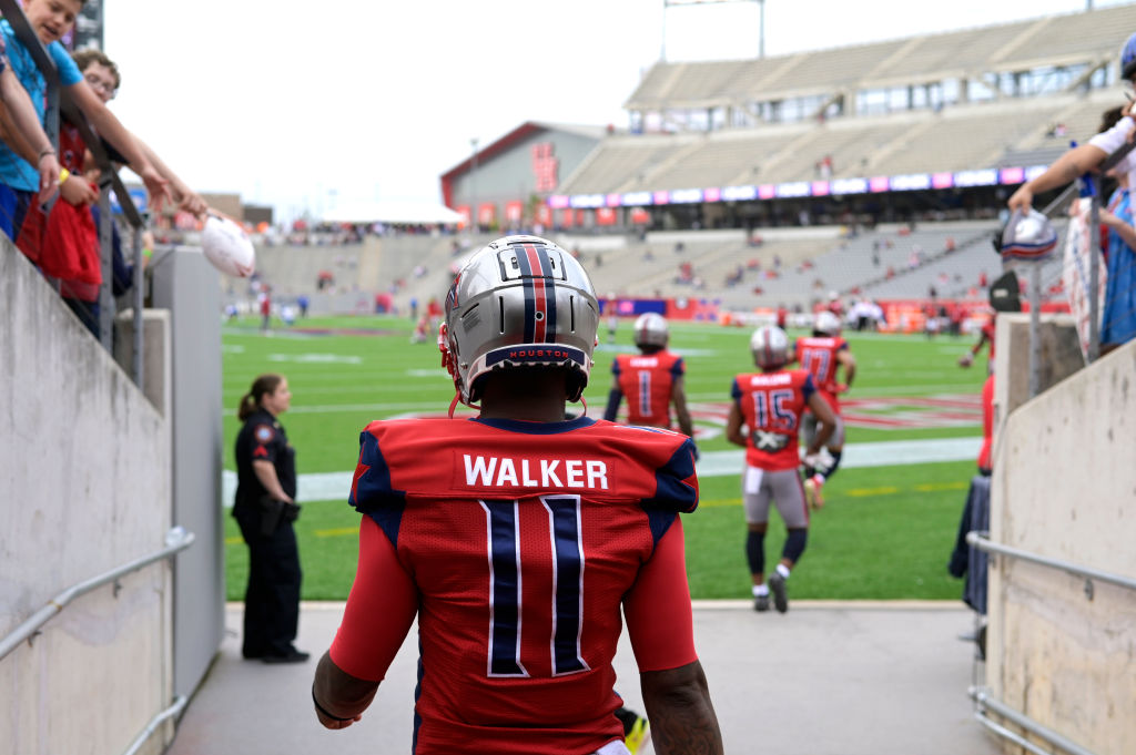 P.J. Walker is going from the XFL to the Carolina Panthers organization.