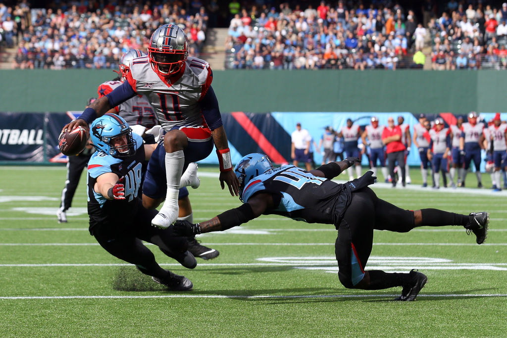 New Carolina Panthers quarterback P.J. Walker led the XFL in passing yards and touchdowns last season.
