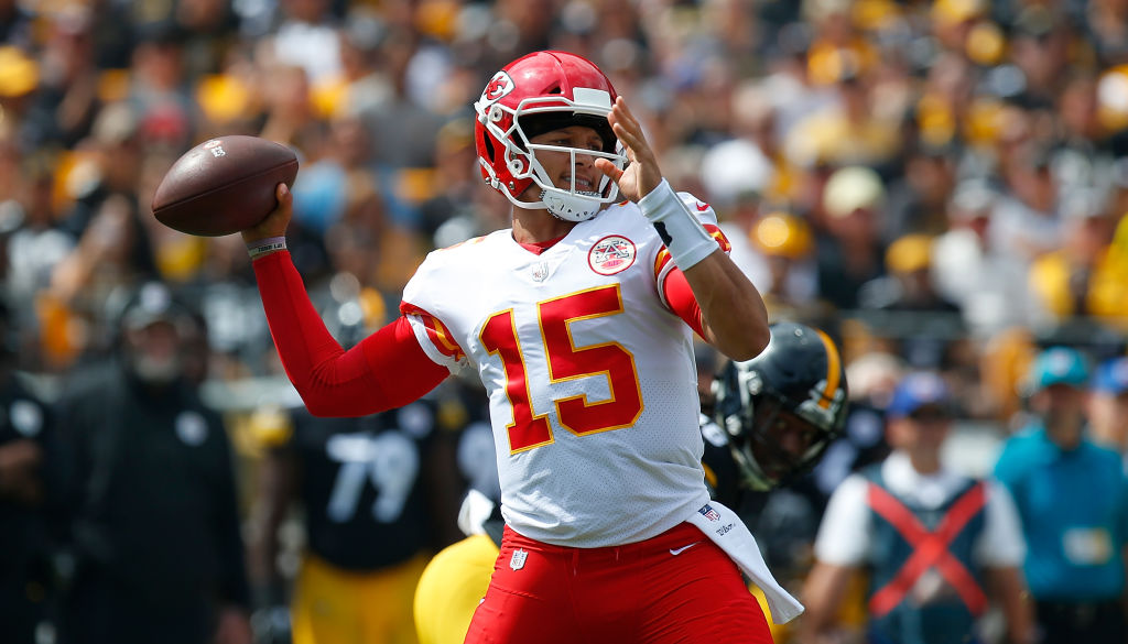Patrick Mahomes accomplished a rare feat in just his third NFL star with the Kansas City Chiefs.