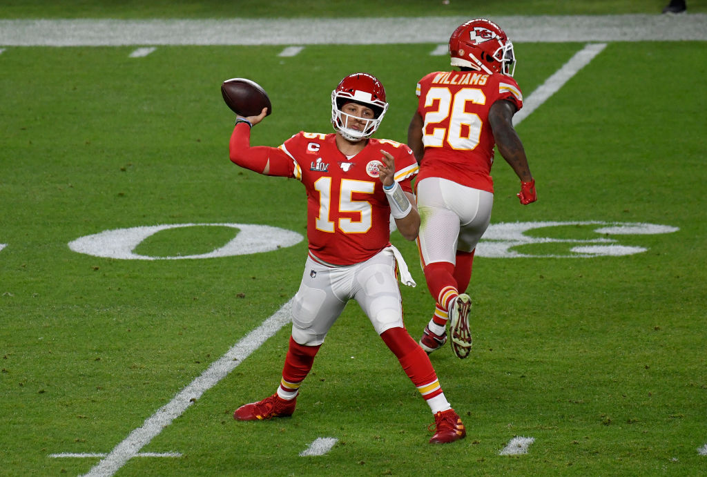 Patrick Mahomes might have won the Super Bowl, but he's still looking to improve this year.