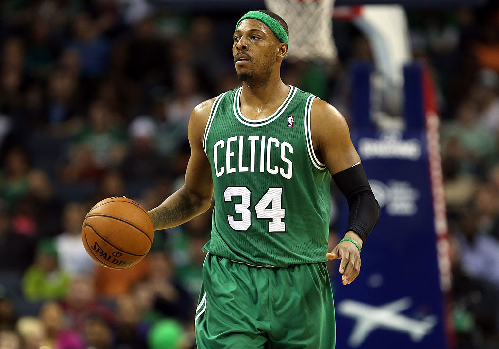 Paul Pierce of the Boston Celtics
