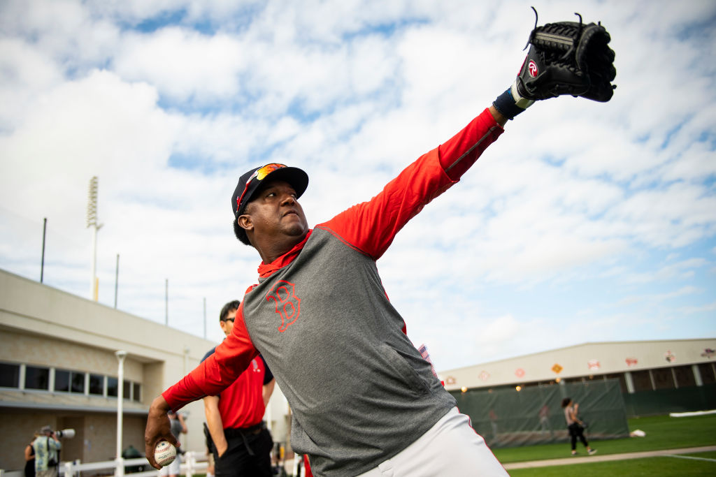 Pedro Martinez won three Cy Young awards and two World Series titles with the Boston Red Sox.