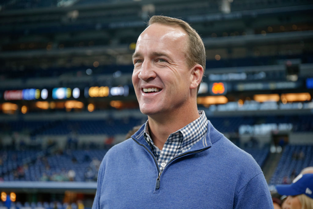 Peyton Manning isn't ready to join ESPN's Monday Night Football Broadcast.
