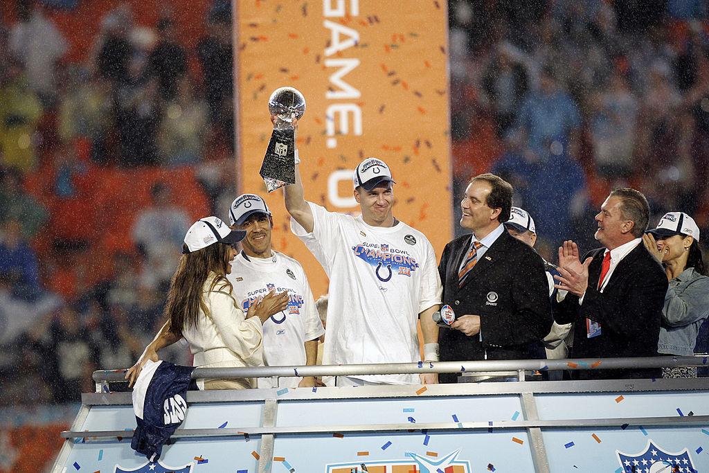 Peyton Manning Colts Super Bowl