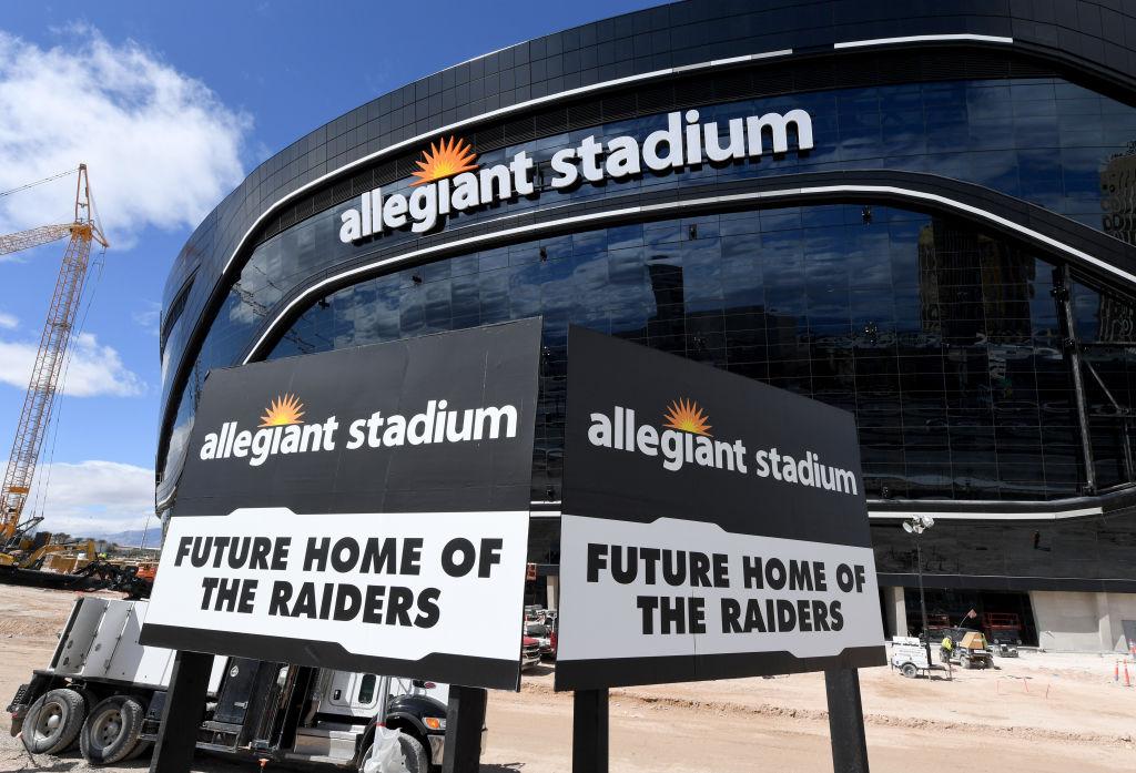 Even the coronavirus pandemic can't stop the Las Vegas Raiders' new stadium.