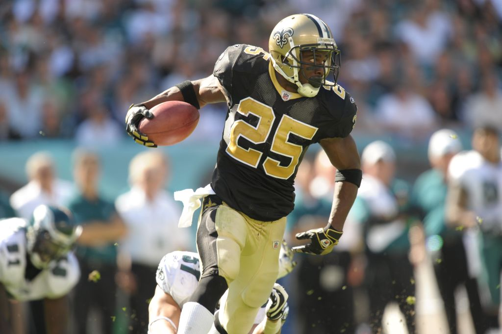Former Heisman Trophy winner Reggie Bush averaged 4.3 yards per carry in 10 NFL seasons. Bush spent his first five years with the New Orleans Saints.