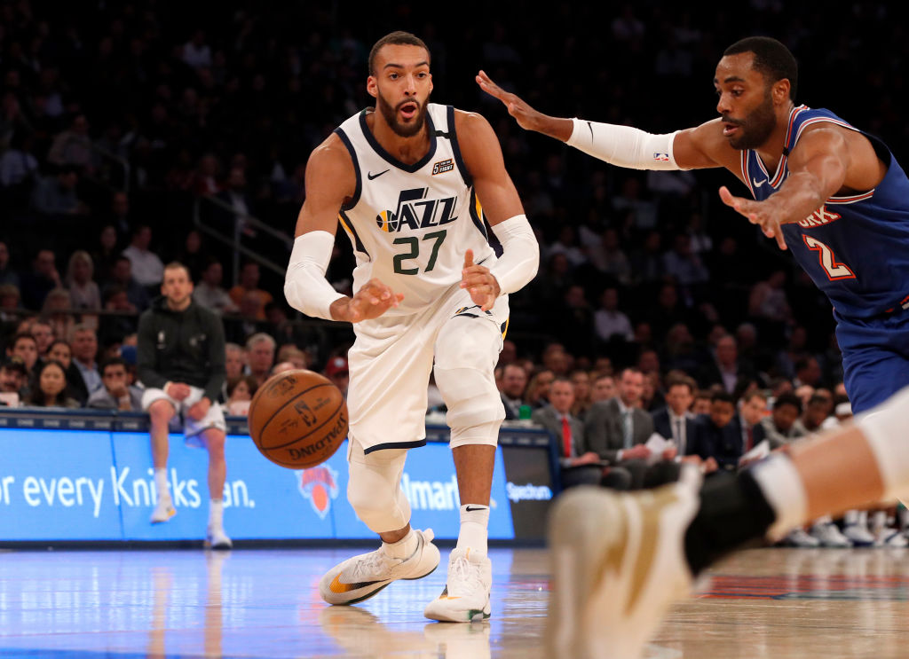 The NBA season was suspended after Jazz center Rudy Gobert tested positive for the coronavirus.