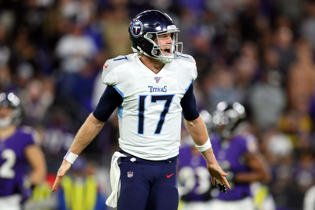 Titans quarterback Ryan Tannehill