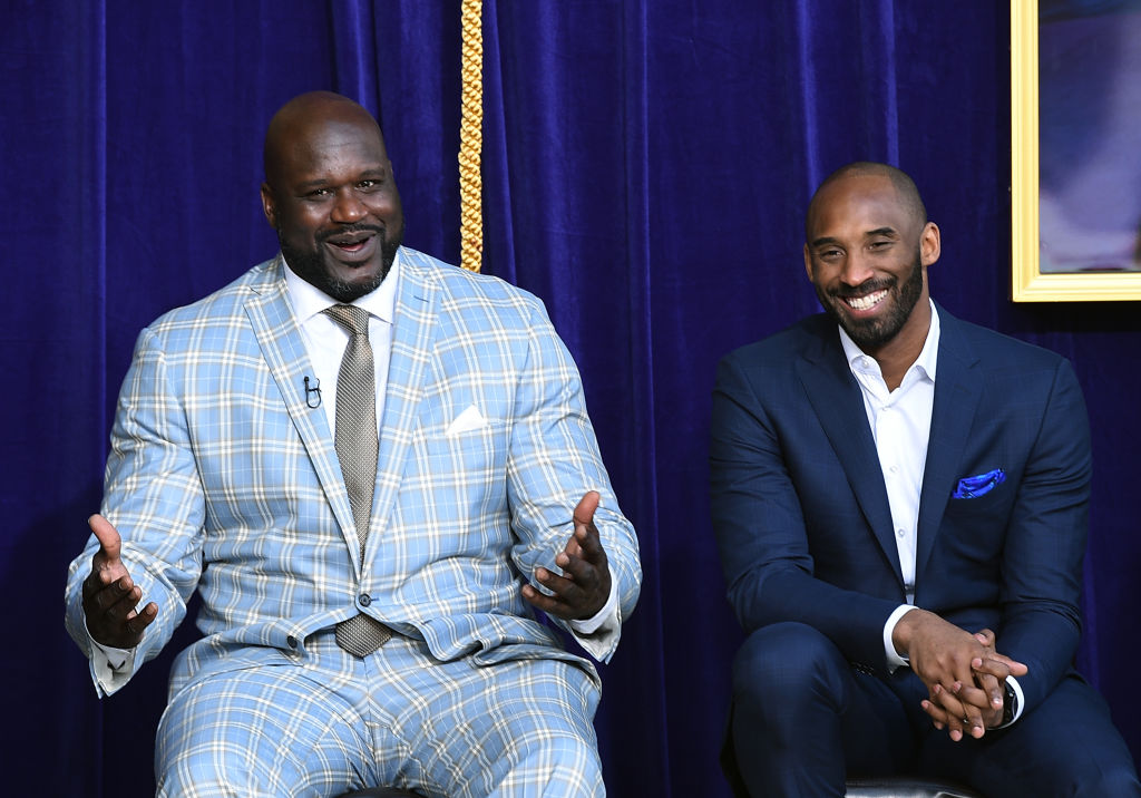 Shaquille O'Neal and Kobe Bryant