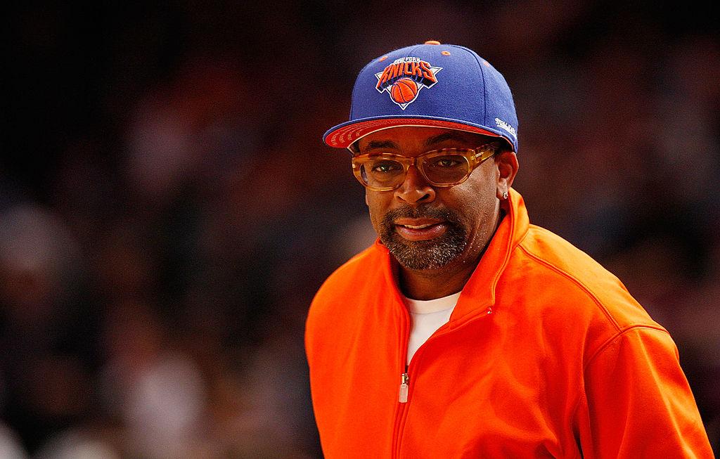 Knicks superfan movie director Spike Lee