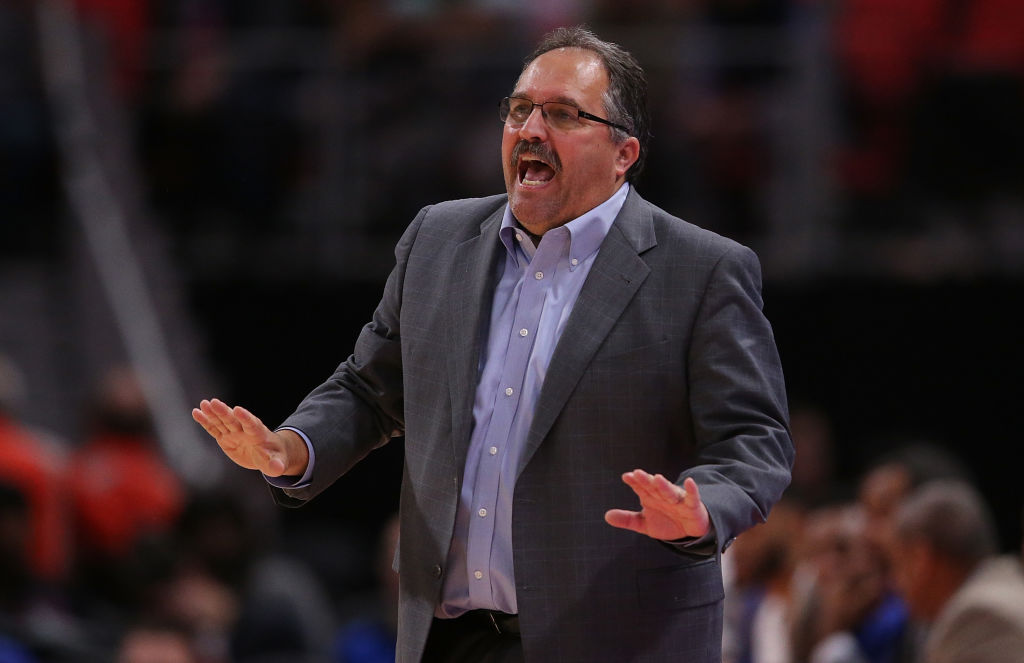 "Stan Van Gundy recently called the New York Knicks a ""dysfunctonal"" organization ."
