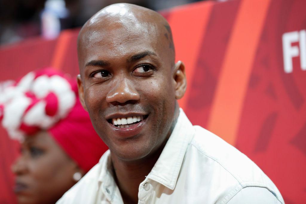 Former NBA guard Stephon Marbury