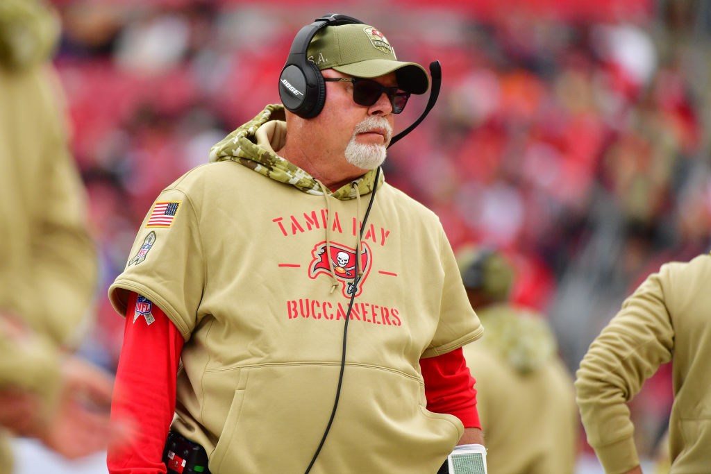 Tampa Bay Buccaneers head coach Bruce Arians reportedly wants Tom Brady under center next season.