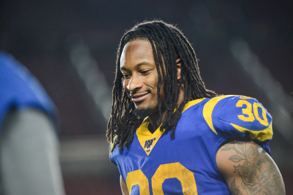 Falcons running back Todd Gurley