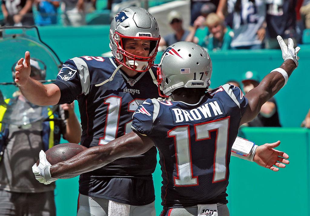 Tom Brady and Antonio Brown