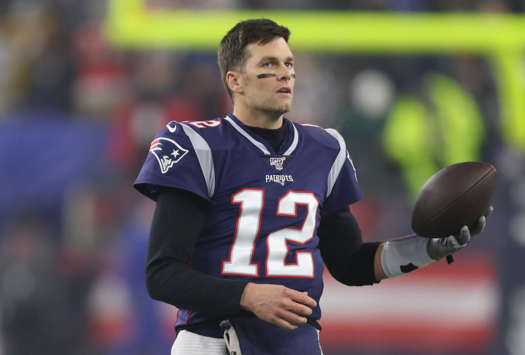 Patriots quarterback Tom Brady