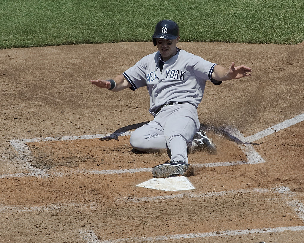 Travis Hafner hit 12 home runs in 82 games for the New York Yankees in 2013.