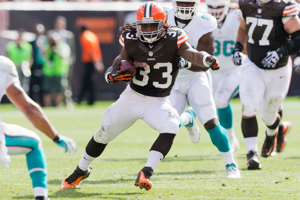 Cleveland Browns running back Trent Richardson ran for 11 touchdowns as a rookie, but never became the star Cleveland imagined.