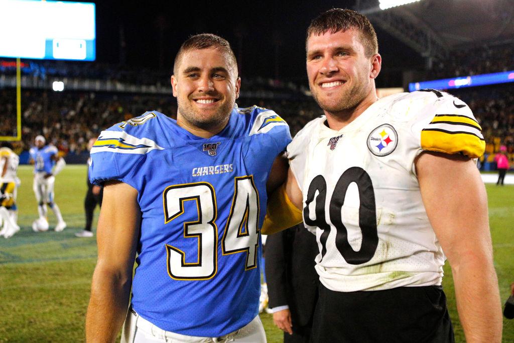Derek and J.J. Watt