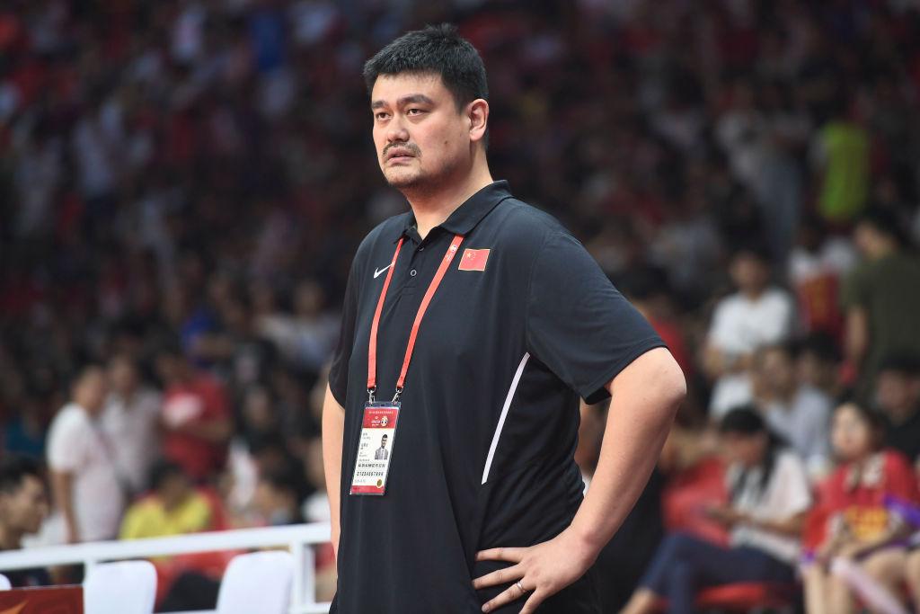 Former Houston Rockets center Yao Ming