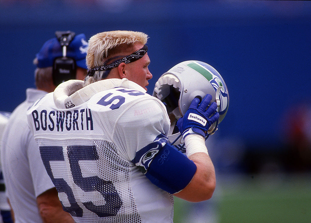 Former Seattle Seahawks Linebacker Brian Bosworth Apologizes to Cashier 30 Years Later