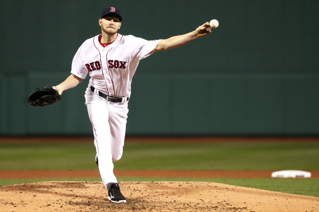 Red Sox Pitcher Chris Sale Sent for MRI on Ailing Elbow