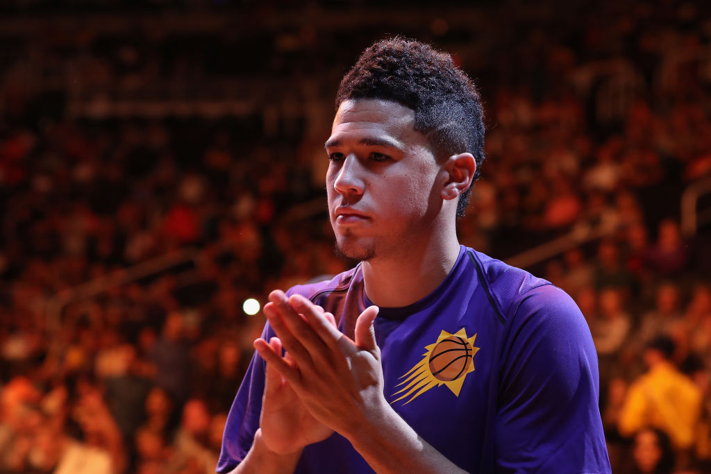 Devin Booker's Tattoo Is a Message From Kobe Bryant