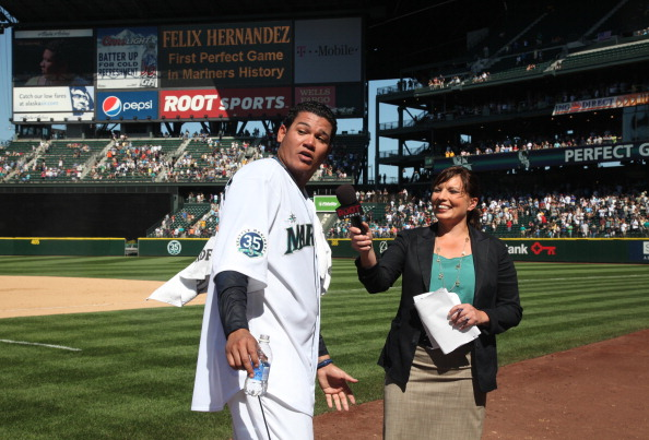 King Felix's perfect game