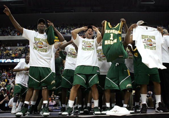 On This Date: 14 Years Ago George Mason Defeated No. 1 UCONN to Advance to the Final Four