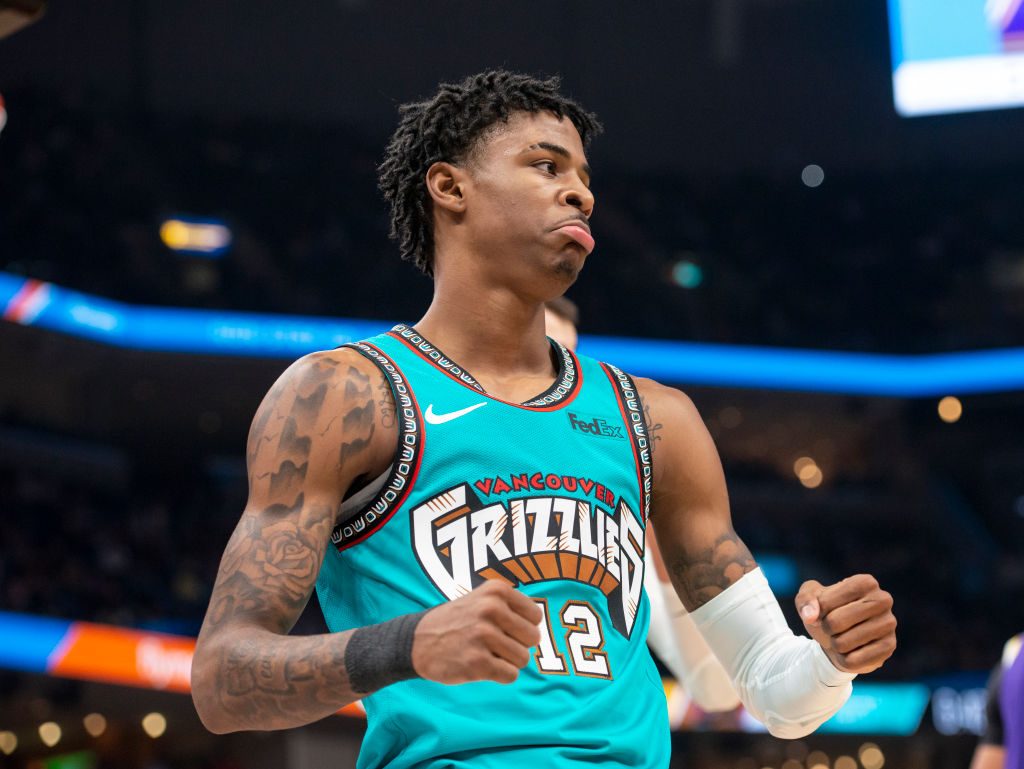 Memphis Grizzlies Rookie Ja Morant Acts Like a Veteran On and Off the Court