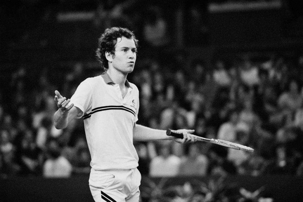 John McEnroe Is the Owner of the Biggest Tantrum in Professional Sports