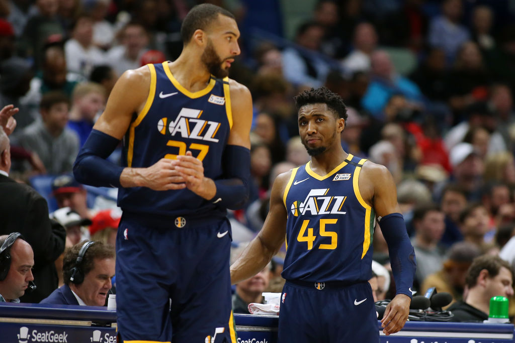 Donovan Mitchell Reportedly 'Extremely Frustrated' with Jazz Teammate Rudy Gobert