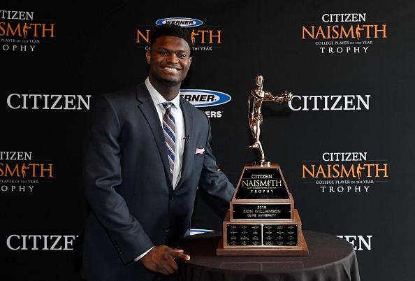 Zion Williamson, Naismith Award