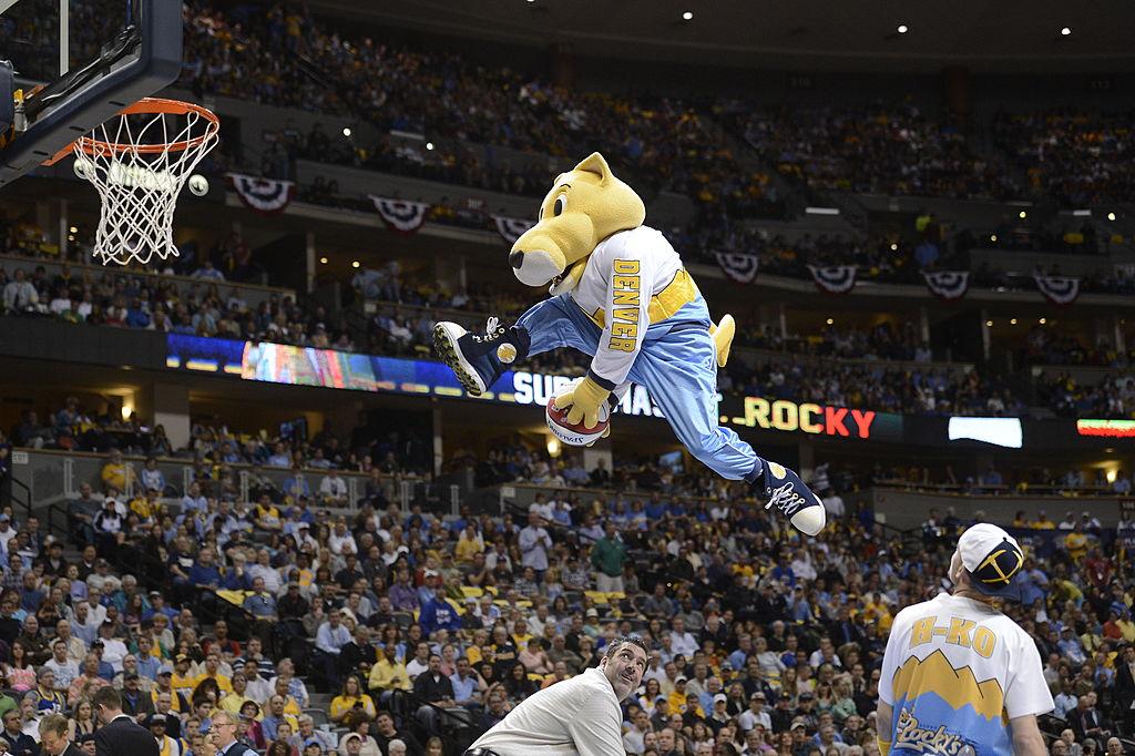 Denver's mascot Rocky