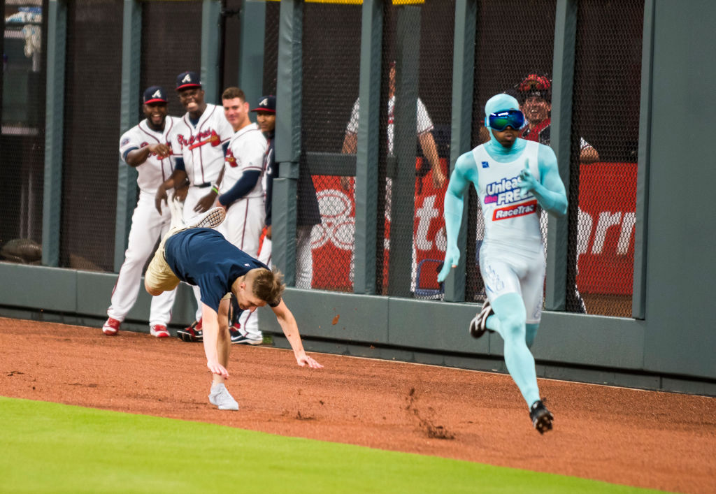 Who Is That Masked Runner at Atlanta Braves Games Known as The Freeze?