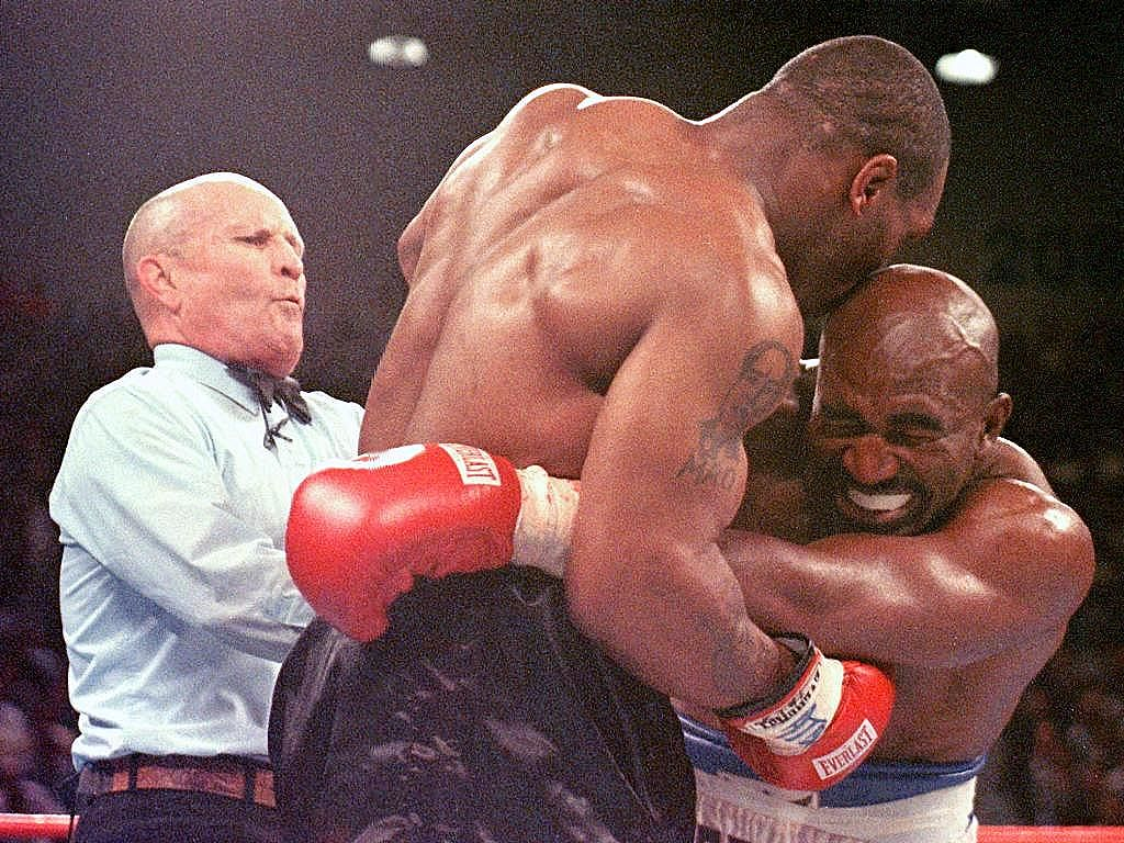 Mike Tyson Bites Ear
