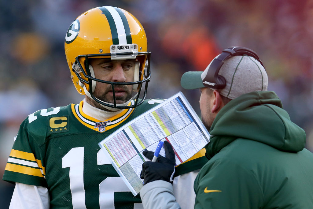 Aaron Rodgers has ruled the Packers for more than a decade, but Matt LaFleur wrestled away his power by drafting Jordan Love.