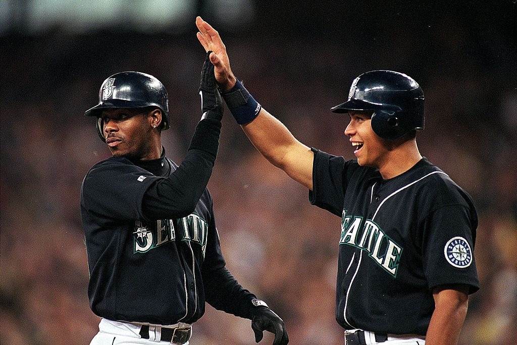 Ken Griffey Jr and Alex Rodriguez
