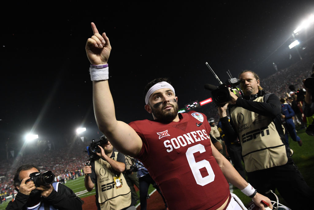Baker Mayfield has had some struggles with the Cleveland Browns, but Oklahoma football is about to make him a permanent part of history.
